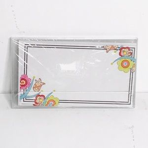 Picture Perfect Note Cards, 8 Pack, White
